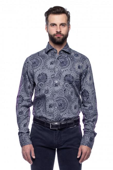 Рубашка с восточным принтом van Laack