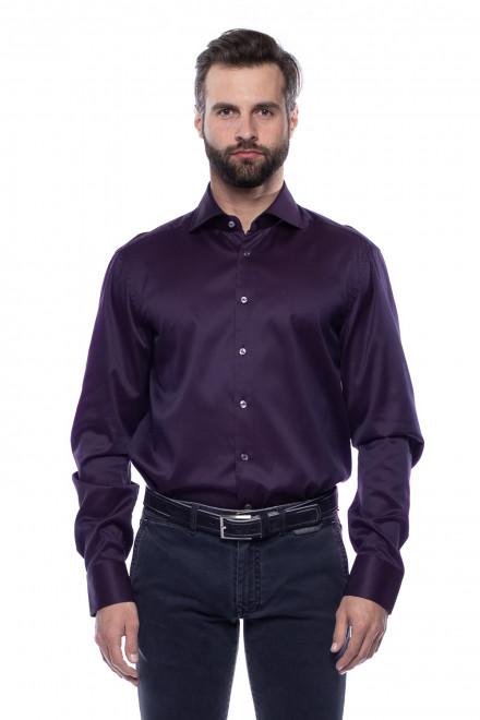 Рубашка темно-фиолетовая van Laack