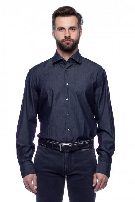 Рубашка с вышивкой на спине van Laack