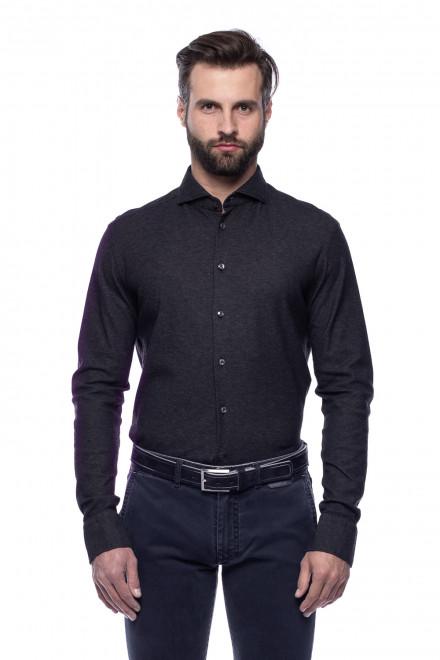 Рубашка черная van Laack