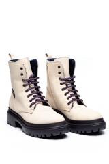 Ботинки женские зимние белые Pollini