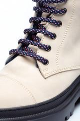 Ботинки женские зимние белые Pollini 2