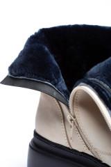 Ботинки женские зимние белые Pollini 4