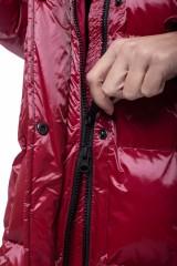 Пуховик красный Blauer 9