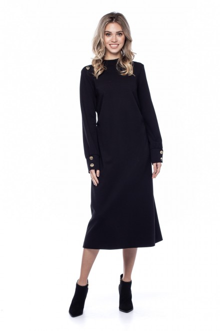 Черное женское платье Liviana Conti