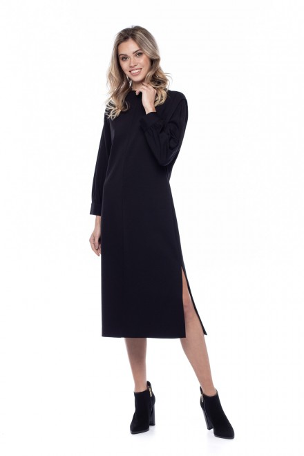 Платье с разрезом Liviana Conti