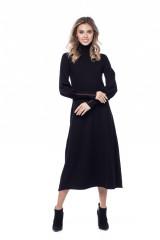 Платье с высокой горловиной Liviana Conti