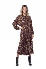 Длинное платье с волнами Beatrice .b