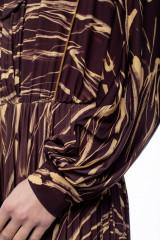 Длинное платье с волнами Beatrice .b 5