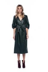 Платье из экокожи Beatrice .b 2