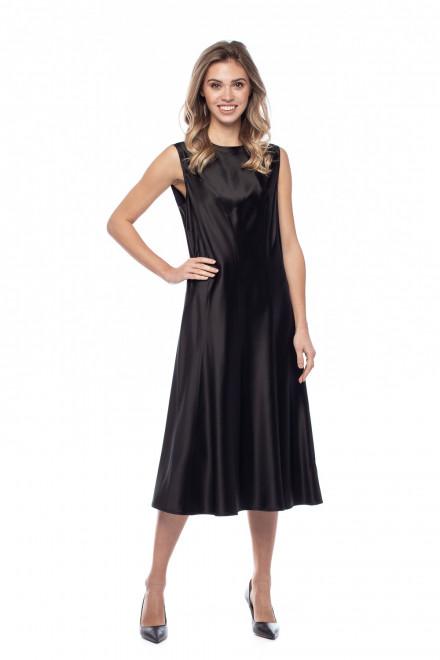 Платье черное однотонное Liviana Conti