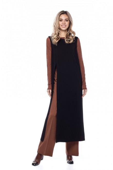 Платье-туника женское с разрезами Liviana Conti