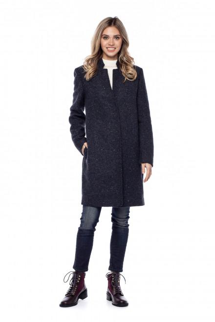 Пальто черное Rich&Royal