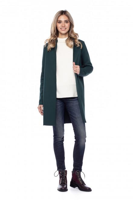 Пальто темно-зеленое Rich&Royal