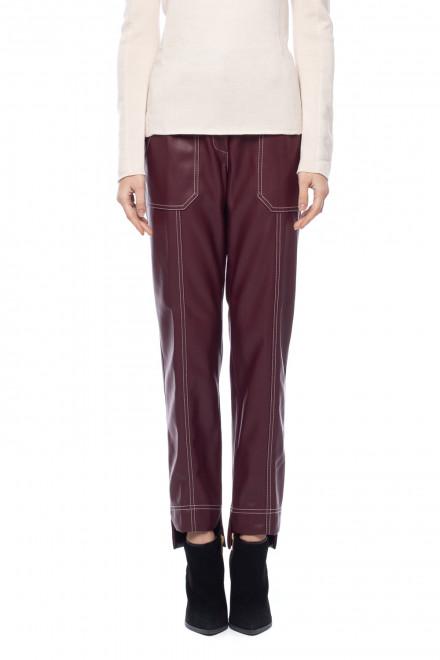Женские брюки из экокожи Sfizio