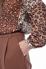 Брюки женские коричневые Sfizio 3