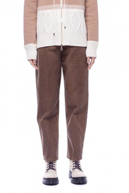 Женские коричневые джинсы Beatrice .b