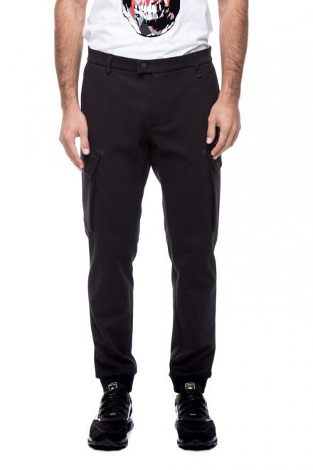 Брюки мужские карго черного цвета Antony Morato