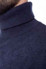 Гольф мужской синий с узором Antony Morato 3