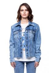 Джинсовая женская куртка Rich & Royal