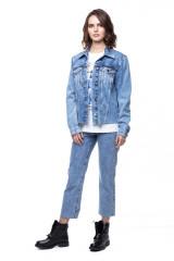 Джинсовая женская куртка Rich & Royal 5