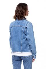 Джинсовая женская куртка Rich & Royal 1