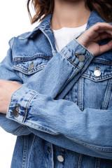 Джинсовая женская куртка Rich & Royal 4