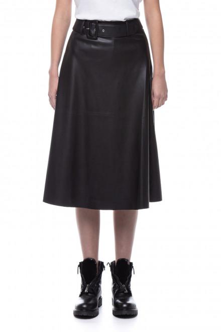 Юбка женская с поясом из экокожи Rich & Royal