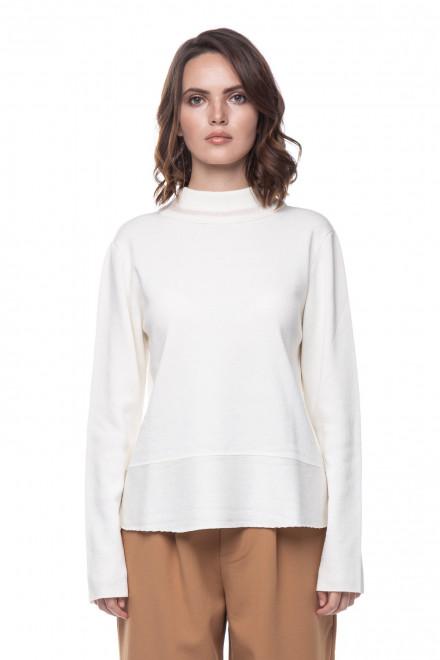 Женский пуловер молочного цвета Rich&Royal