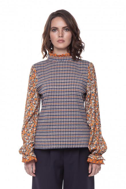 Женская блуза с цветочным принтом Rich & Royal