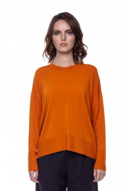 Женский оранжевый пуловер Rich&Royal
