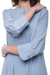 Голубое платье свободного кроя Rich&Royal 4