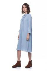 Голубое платье свободного кроя Rich&Royal 1
