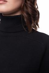 Платье трикотажное черное UNQ 4