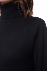 Платье трикотажное черное UNQ 3