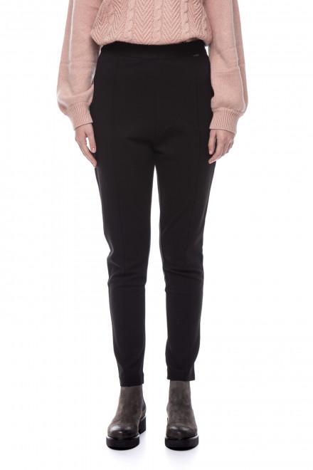 Зауженные черные брюки Le Coeur