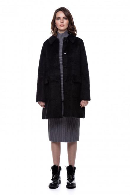 Пальто жіноче чорне Le Coeur
