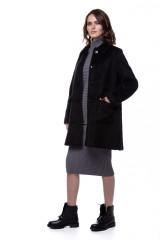 Пальто женское черное Le Coeur 1
