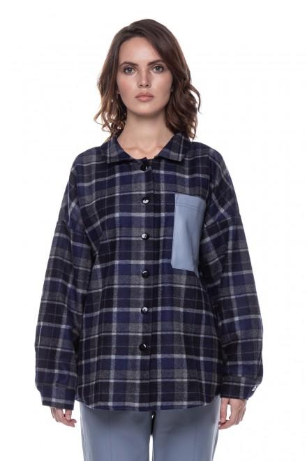 Рубашка женская клетчатая UNQ