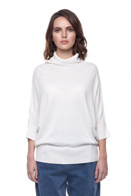 Пуловер женский кремовый UNQ