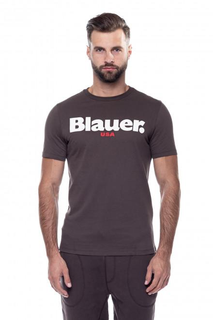 Футболка мужская коричневая Blauer.USA