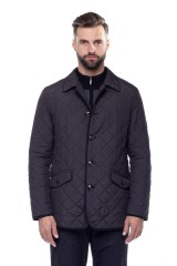Куртка чорного кольору на ґудзиках Schneiders