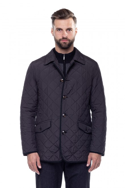 Куртка черного цвета на пуговицах Schneiders