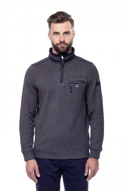 Пуловер серый Fynch Hatton