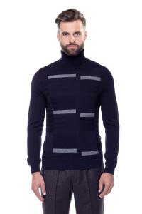 Пуловер мужской синий Pal Zileri LAB