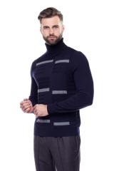 Пуловер мужской синий Pal Zileri LAB 1