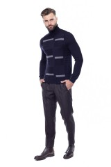 Пуловер мужской синий Pal Zileri LAB 4