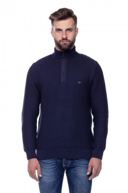 Пуловер синий Fynch Hatton