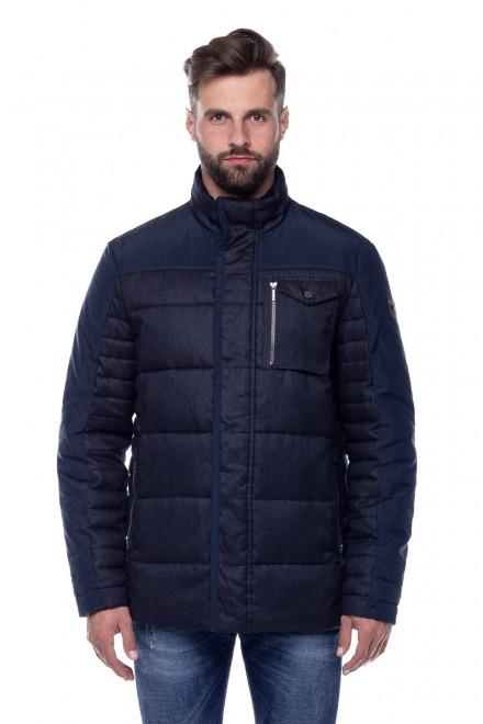 Куртка мужская темно-синяя Fynch Hatton