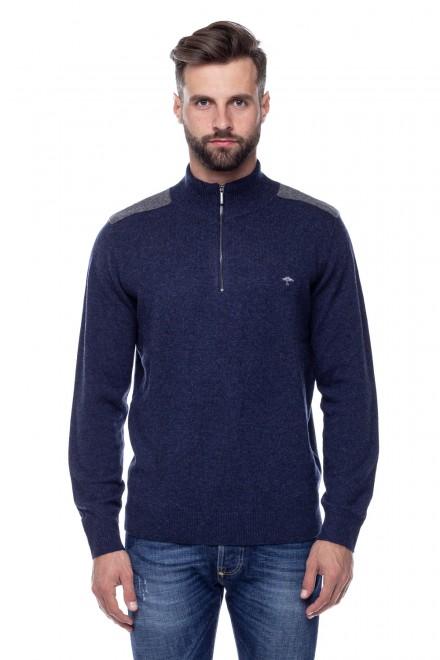 Пуловер мужской синий Fynch Hatton